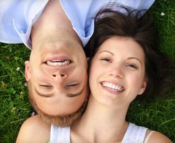 Couple who found their sedation dentist near Highlands Ranch.
