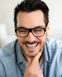 Smiling patient looks great after receiving cosmetic dental services in Lone Tree.